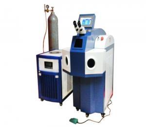 China 200W YAG Laser Welding Machine , Jewelry Soldering Machine With Microscope System on sale