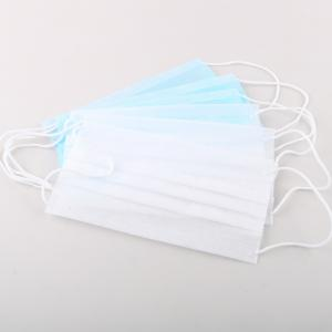 China Clinical Disposable Face Mask / Hypoallergenic Surgical Mask Anti - Pollution on sale