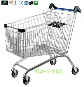 China European Style Disabled Supermarket Shopping Trolley Cart With Baby Seat on sale