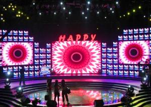 China Indoor P6 LED Display Screen Rental , LED Video Wall Panels 120° Viewing Angle on sale