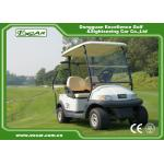 EXCAR A1S2 White 48V Trojan Battery Operated Electric Golf Carts