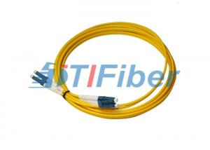 China Duplex 2.0mm Fiber Optic Patch Cord Singlemode Fiber Optic Patch Cable LC To LC on sale