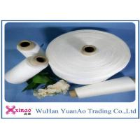Ring Spun / TFO 100% Polyester Weaving Yarn For Sewing Clothes