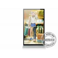 Transparent Wifi Digital Signage Android Monitor Samsung LG 98 Inch Floor Stand