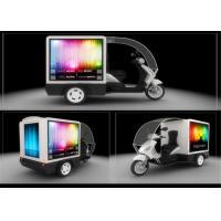 China IP65 Waterproof LED Mobile Billboard Display , Motorcycle Moving LED Message Display on sale
