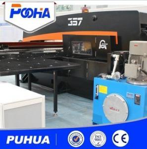Automated Cnc Punch Press Hydraulic System Cnc Turret Press Machine