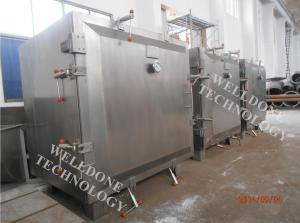 China Industrial Steam Heating Vacuum Tray Dryer No Cross Contamination 2 . 2 - 55kw on sale