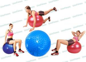 China Massage 55cm 65cm 75cm Inflatable Exercise Ball For Abs Men Workout on sale
