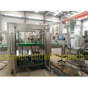 China Automatic Alcoholic Beverage Filling Machine Juice / Drink Water Bottling Machine on sale