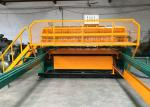 Longitudinal Stress Body Welded Wire Mesh Machine 380V 50Hz Rated Voltage