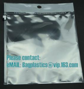 China PP SLIDER HEADER BAGS, Wicketed Micro Perforated bags, Bakery bags, Bopp bags, Bread bags on sale