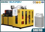 30.5KW Plastic Blow Moulding Machine , 4l 5l Lubricant Oil Jerrycan Double Station Bottle Making Machine