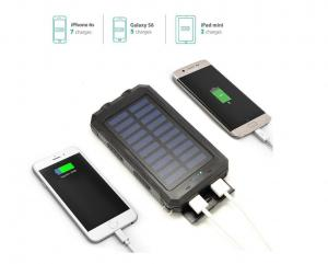China Newest  5V,1A,   solar charger power bank  with compass for cell phones on sale