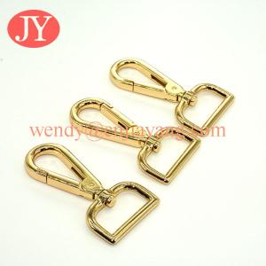 China jiayang gold color 32mm swivel snap hook for purse / handbags on sale