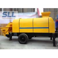 China Various Colors Electric Concrete Pump , Small Portable Concrete Pump on sale