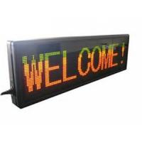IP31 car indoor moving seven segment led display sign programmable