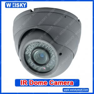 China 600TVL Sony CCD Dome camera High Definition Metal CCTV dome camera on sale