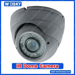China 600TVL Sony CCD Dome camera High Definition Metal CCTV dome camera on sale