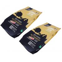 Food Grade Vivid printing Pet Food Packaging pouch with semi transparent