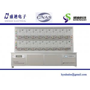 China Three-Phase multifunctional Static Watt-Hour Meter test bench,0.05% accuracy Max.120A,IEC60736 16 Positions on sale
