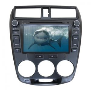 China Wholesale double din car dvd cd media system for Honda 2014 City with TV GPS on sale