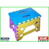 China Easily Fold Up And Store Collapsible Step Stool Adult User Friendly on sale