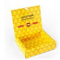 Full Color Ties Garment Packaging Boxes CMYK Printing White Cardboard