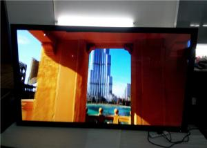 China Horizontal Touch Screen Advertising LED Billboard 2 Points Floor Standing on sale