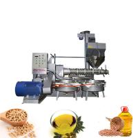 Cold and hot pressing peanut linseed perilla seed oil machine with high oil rate