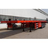3 axle 40 foot flatbed trailer extendable flatbed trailer for sale