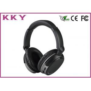4.0 ブルートゥースのヘッドホーンの黒色、携帯用にブルートゥースのヘッドホーンの騒音の取り消すこと