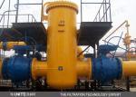 UNISSEZ le filtre standard de gaz naturel vertical ou horizontal pour la séparation gaz-solide