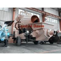 China 15m3/Hr Mixing Capacity Diesel Concrete Mixing Pump China Manufactory on sale
