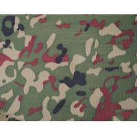 China Camouflage Fabric Cotton Compound Foam , Flame Retardant Waterproof Camo Fabric on sale