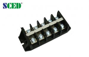 China PCB Panel Mounted Terminal Block 2P - 24P High Voltage 600V 20A on sale