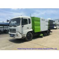 Kingrun Vacuum Road Sweeper Truck For Dust Suction , Street Sweeper Vacuum Truck