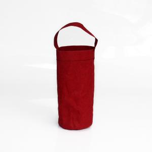 China Washable Kraft Paper Wine Bottle Bags Eco - Friendly Recycled Design on sale