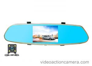 China Rearview Mirror Road Dash Video Camera High Definition With 140 Degree Angle on sale