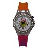 China Girls Japan Quartz Analog Watch , Kids Wrist Watches With Plastic Case on sale