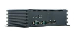 China Low Cost Desktop Fanless Embedded BOX PC x86 Dual Core WIFI on sale