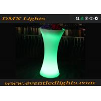 Outdoor / Indoor Illuminated LED Flower Pots For Garden , Eco Friendly Plastic Material