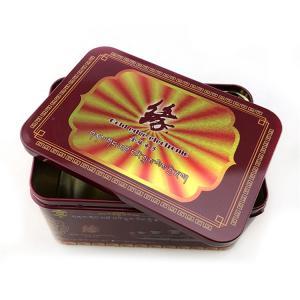 China Electronics Tin Custom Packaging Boxes Rectangular 0.19-0.35mm Tinplate Material on sale