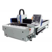 High Efficiency Laser Wood Cutting Machine 1000W , Cnc Metal Laser Cutter Low Noise