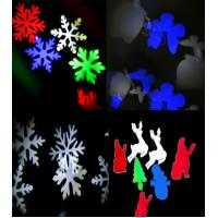 LED Christmas Projector Snowflake Patterns - move to music - Disco Party Light