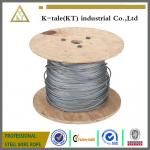 6X19+FC and 6X37+FC Ungalvanized steel wire rope for Lifting Hoisting Drawing