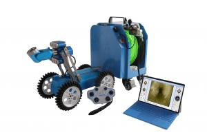 China Computer Controlled CCTV Inspection Camera , Lightweight Sewer Robot Camera on sale