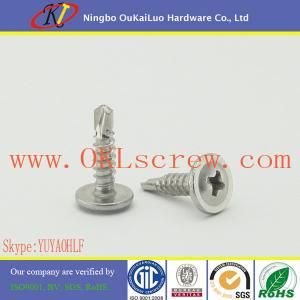 China #8 x 3 4 Stainless Steel Truss Head Self Drilling Screws on sale