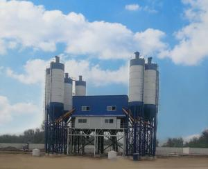 China Automatic Stabilized Soil Mixing Plant , No Sewage Discharge Cement Batching Plant on sale