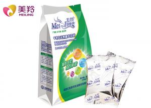 China Elder People Instant Fat Filled Milk Powder Raw Goat Milk Flavor Raw Materials In 400g Sachet on sale