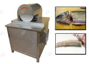 China Stainless Steel Meat Processing Machine , Fish Head Cutting Machine High Efficiency on sale